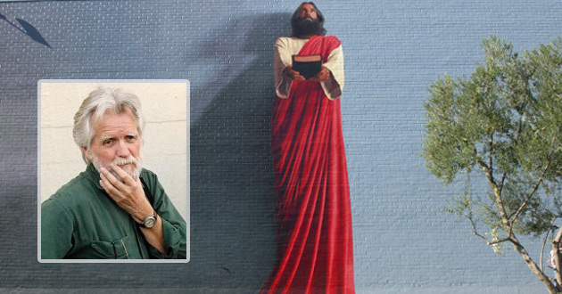 Infusing christianity into la s giant murals christian for Biola jesus mural