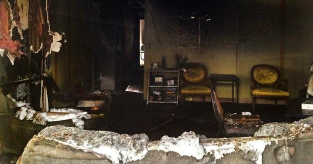 Church arson