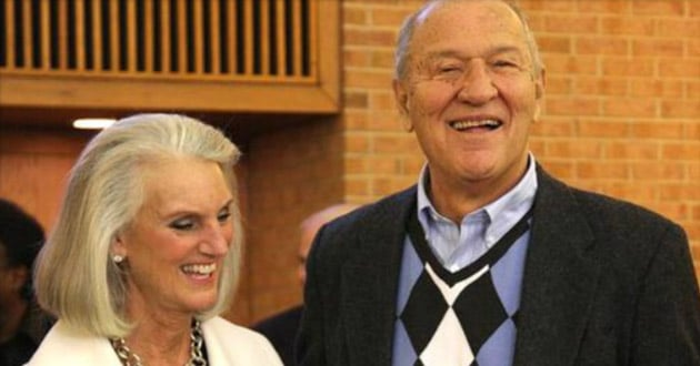 Anne Graham Lotz with her husband, Danny Lotz