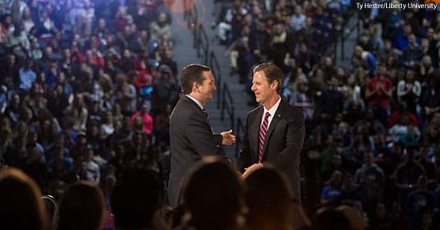 Senator Ted Cruz at Liberty University