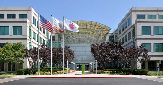 Apple's headquarters