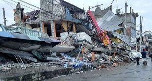 quake-stricken Ecuador