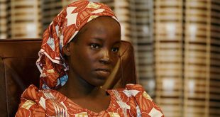 Amina Ali Nkeki, a Nigerian school girl rescued after over two years of captivity