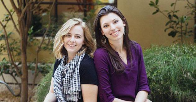 Breanna Koski and Joanna Duka