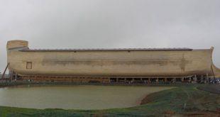 Noah's Ark replica at the Ark Encounter