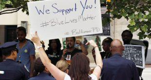 'Blue Lives Matter'