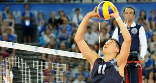 U.S. Olympic volleyball player Micah Christenson
