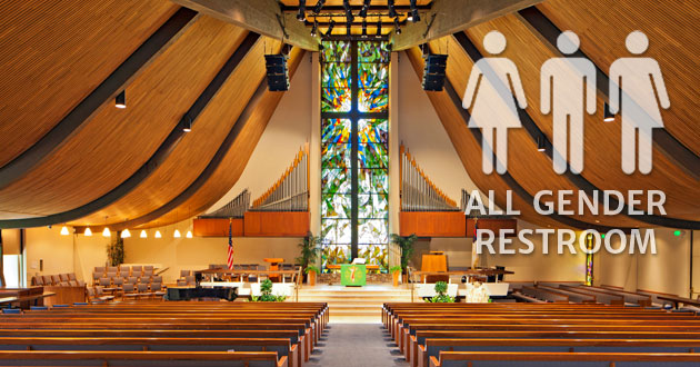 Churches and transgender bathrooms