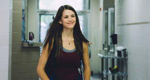 Masey McLain, who plays Rachel Joy Scott in I'm Not Ashamed