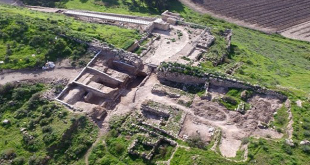 Tel Lachish in the Judean foothills