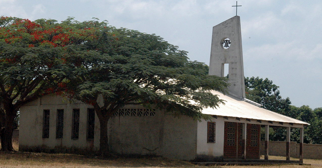 Christian church in the Central African Republic