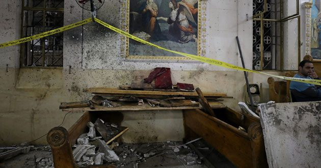 Coptic church bombing