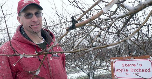 Farmer Stephen Tennes