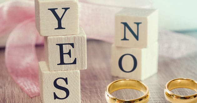 Delaying marriage