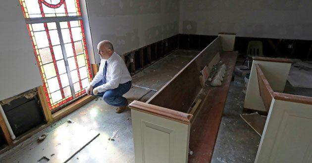 FEMA funding for churches