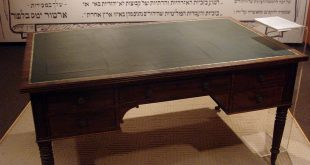 Lord Balfour's desk
