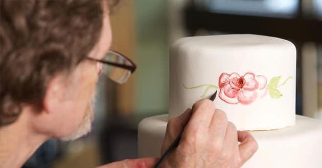 Cake artist Jack Phillips