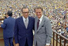 George Beverly Shea and evangelist Billy Graham