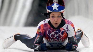 Skeleton racer Katie Uhlaender