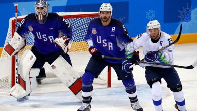 Noah Welch on the U.S. Olympics hockey team