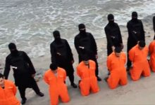 Execution of 21 Egyptian Christians who were captured in Libya.
