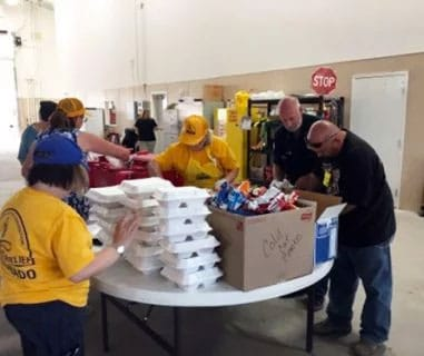 Disaster Relief volunteers