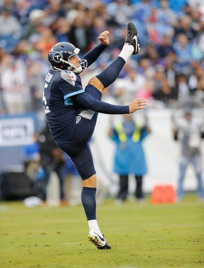 Titans punter Brett Kern