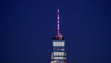 New York landmarks to be lit up pink