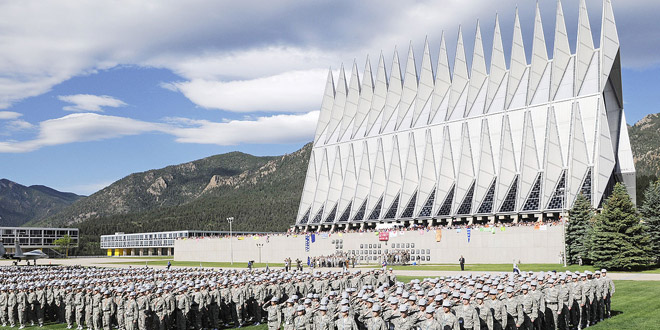 Photo of Religious freedom urged at Air Force Academy