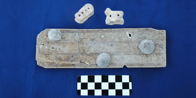Photo of New discoveries made in King Solomon's city at Tel Gezer; ancient ivory-carved game board retrieved