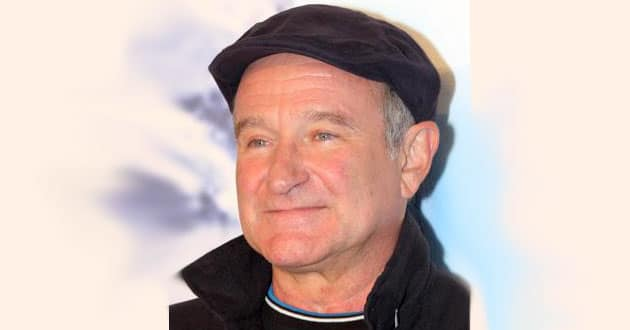 Photo of Robin Williams and depression
