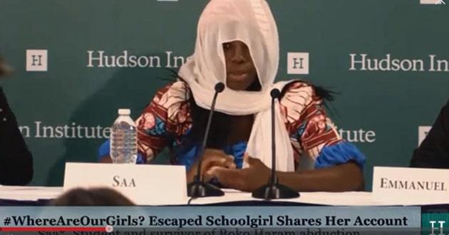 Nigerian school girl