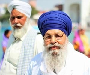 Sikh beard
