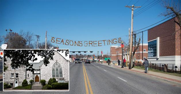 Photo of Churches step into Ferguson's pain