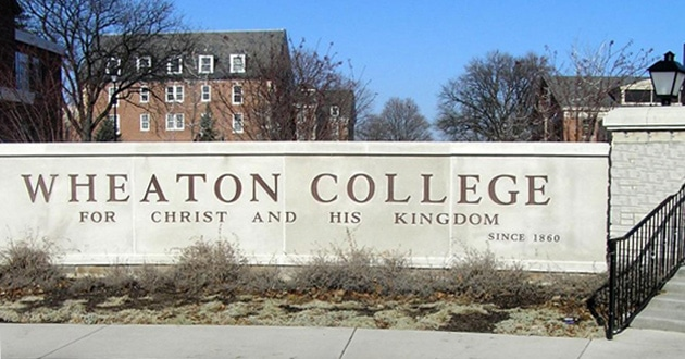 Photo of Wheaton's counselor describes herself as a 'gay celibate Christian'