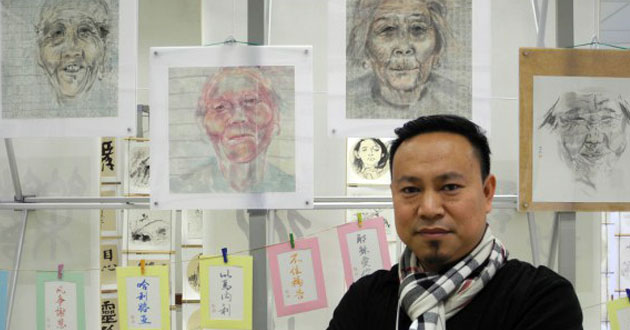 Photo of Artists in Beijing infuse their paintings with the Gospel