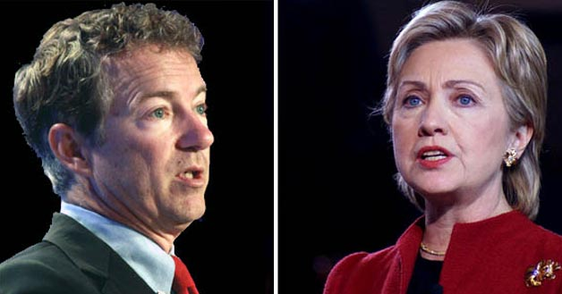 Photo of Clinton, Paul talk abortion on 2016 campaign trail
