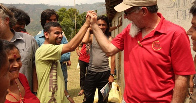 Photo of In Nepal, forgotten village receives food