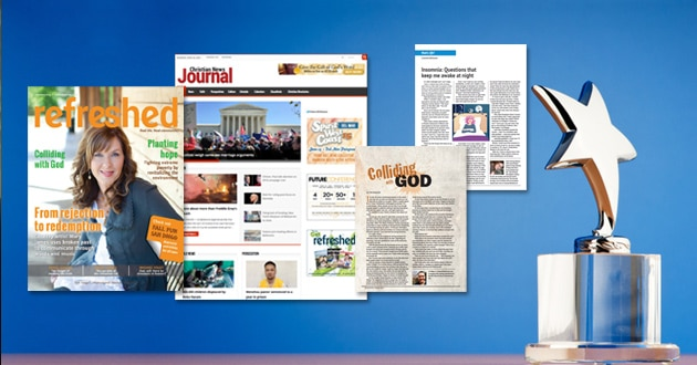 Photo of Christian News Journal and Refreshed magazine bring home awards