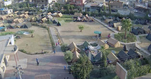 Erbil camp