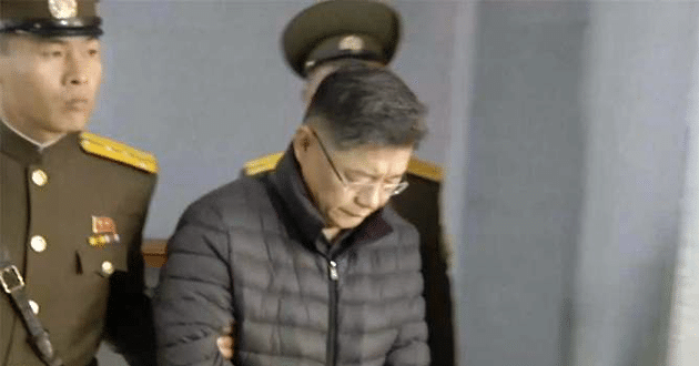 Photo of North Korea gives life sentence to Canadian pastor