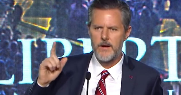 Photo of Falwell's concealed-permit comments enter gun debate