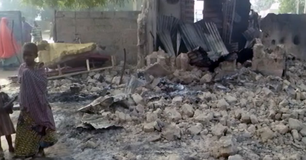 Boko Haram burns children alive