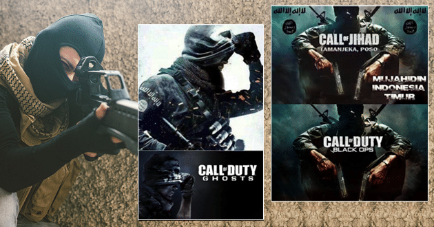 ISIS lures with video game themes
