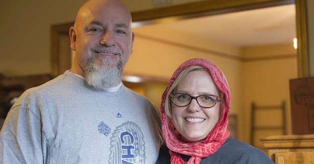 Photo of Missouri Christian wears hijab in solidarity