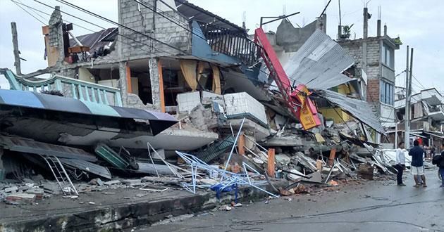 Photo of Faith-based groups rush to help quake-stricken Ecuador