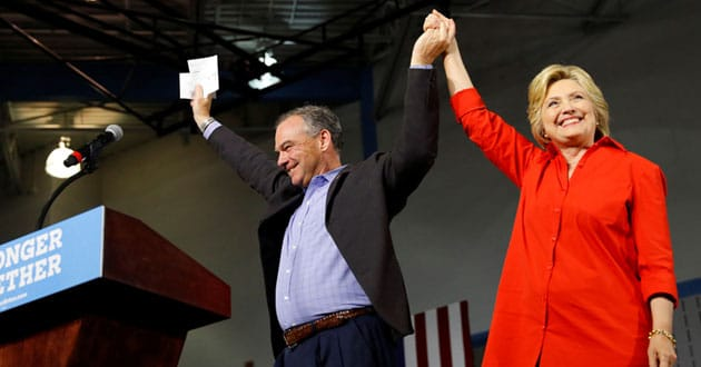 Photo of On abortion, Tim Kaine is a bridge to Hillary Clinton's past