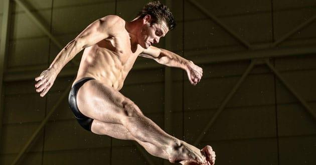 U.S. men's diver David Boudia