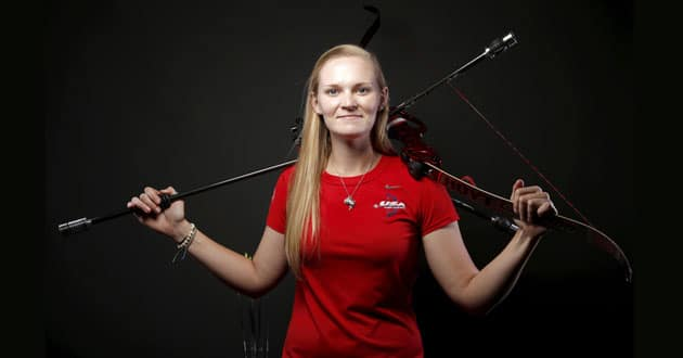 Photo of Evangelical archer Mackenzie Brown takes aim at first Olympics