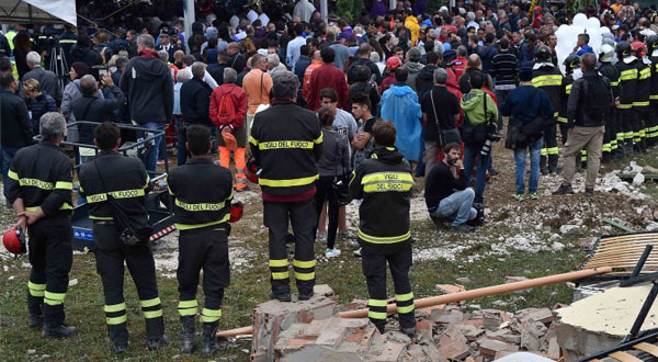 Photo of Italy holds funeral for quake victims as search continues